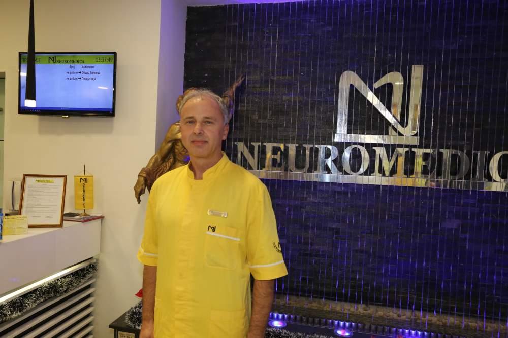 Д-р Томислав Цуцуловски, специјалист по интерна медицина е дел од медицинскиот тим на Неуромедика