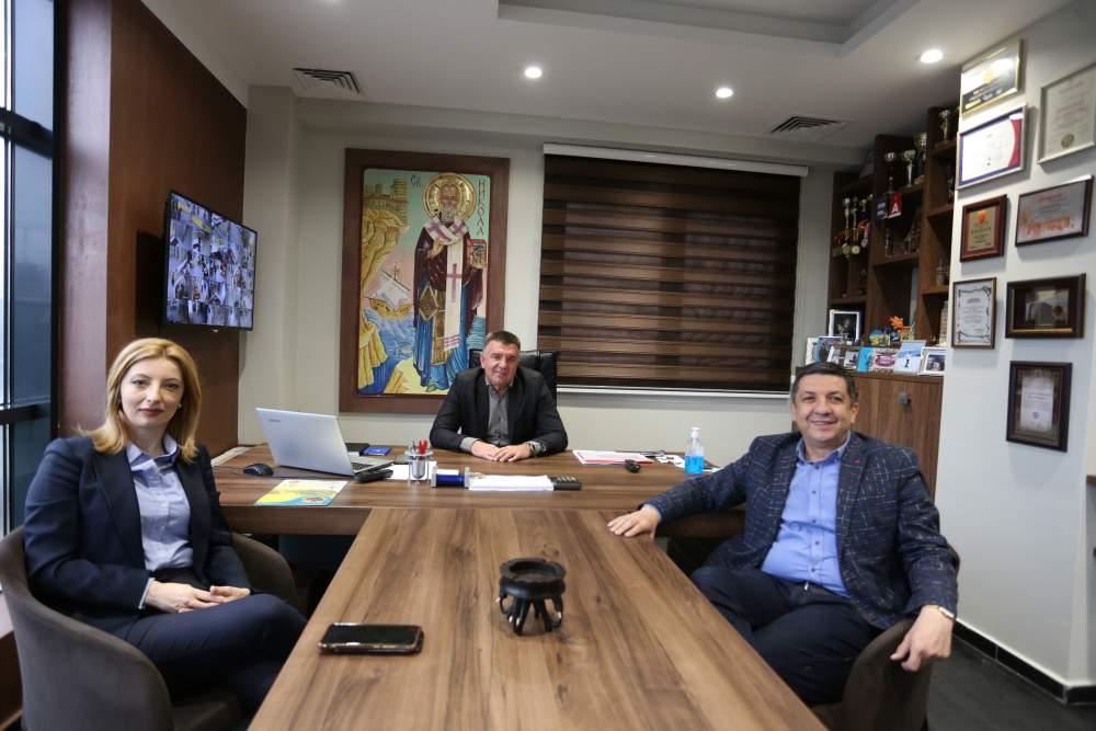 Работна средба со Сојузот на Стопански комори на Македонија