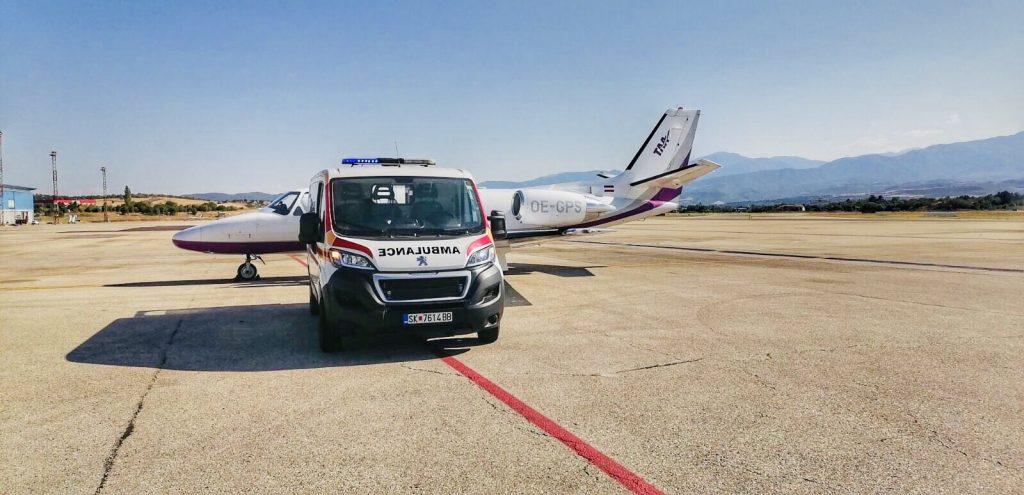 Успешно реализиран уште еден медицински транспорт од страна на Неуромедика